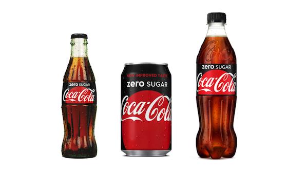 Coca Cola Zero Sugar met stip