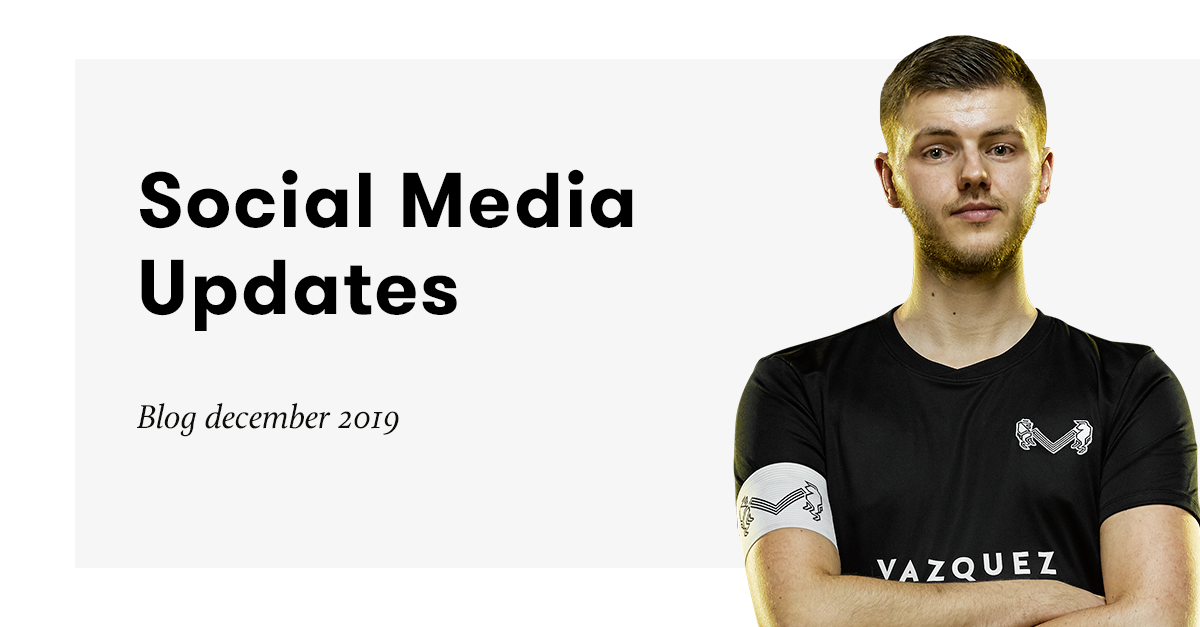 Social Media Updates December 2019
