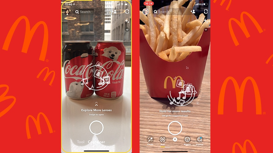 Snapchat – Scan-advertenties